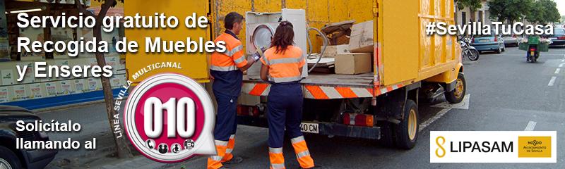 Servicio De Recogida De Muebles : Lipasam la empresa de limpieza pública del ayuntamiento