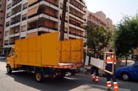 LIPASAM, la Empresa de Limpieza Pública del Ayuntamiento de Sevilla: Muebles ...