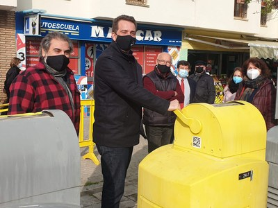 El Ayuntamiento concluye la primera fase de la reparación de la red de recogida neumática de residuos de Pino Montano tras una inversión de 300.000 euros