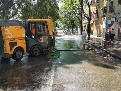 El Ayuntamiento expone ante la comisión especial de limpieza municipal nuevas medidas dentro del programa de mejora continua que incorporaran baldeos, reparaciones y adecuación de contenedores y reducción de ruidos nocturnos