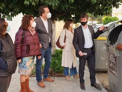 El Ayuntamiento implanta el sistema de recogida de biorresiduos en los barrios de San Jerónimo y la Bachillera del Distrito Norte con un proyecto financiado a través del programa europeo EDUSI