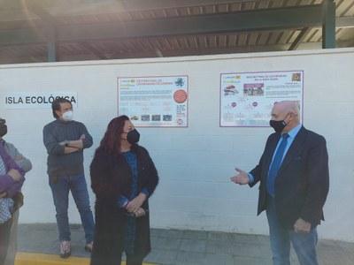 """El Ayuntamiento impulsa un concurso de graffiti con motivo de la entrada en servicio del nuevo punto limpio """"Las Palmeras"""", sobre temas relacionados con el cuidado del medio ambiente"""