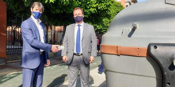El Ayuntamiento inicia la implantación progresiva del nuevo sistema de recogida de biorresiduos en la Ronda Histórica