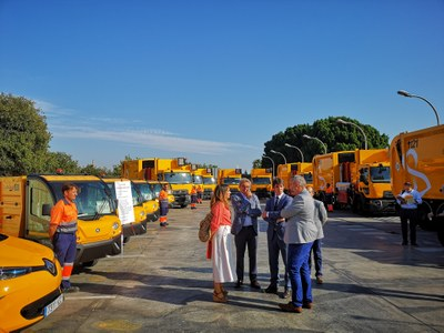 El Ayuntamiento pone en marcha la prueba piloto de limpieza viaria en la zona norte y el plan especial de mejora de contenedores en toda la ciudad