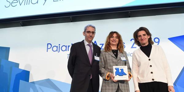 La Pajarita Azul premia la excelencia de la recogida de papel y cartón de Lipasam