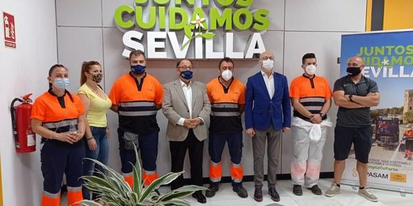 LIPASAM REALIZA LA VACUNACIÓN FRENTE AL COVID-19 DE SU PLANTILLA PENDIENTE DE INMUNIZACIÓN EN SUS INSTALACIONES