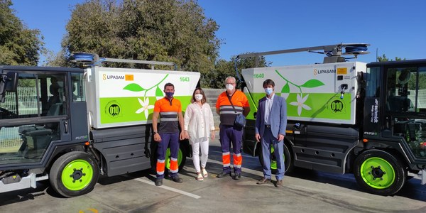 Lipasam incorpora a su flota nuevos equipos de baldeo