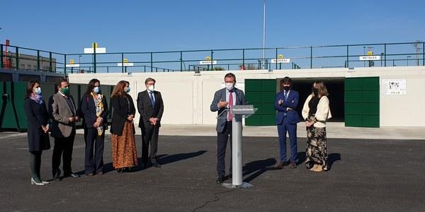 Lipasam incorpora un quinto punto limpio a la red municipal tras un acuerdo con la Autoridad Portuaria y la Junta de Andalucía