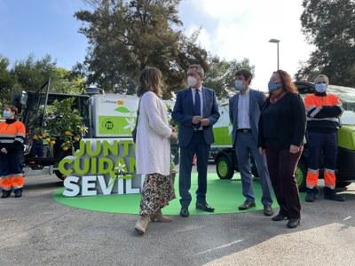 Lipasam prevé la ejecución casi completa del presupuesto de 2020 al cierre del año y mantiene en Navidad el plan de actuación ante la COVID 19 y un refuerzo de limpieza viaria de zonas comerciales