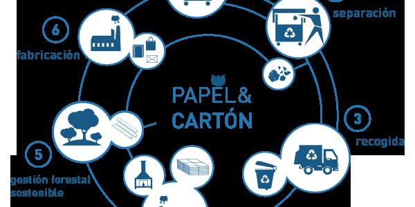 Lipasam recibe un reconocimiento de ámbito nacional por su apuesta por la recogida selectiva de papel y cartón que se incrementó en 2020 pese a la pandemia